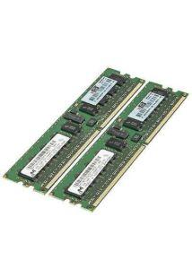 HP 4GB (2*2GB) 1RX4 PC2-6400P DDR2-800MHZ RDIMM MEM KIT