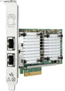 HP ETHERNET 10GB 530T 2 PORT ADAPTER - WITH HIGH PROFILE BRKT