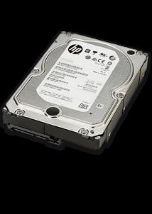 """HP 4TB 7.2K 6G 3.5"""" SATA SC HARD DRIVE"""