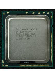 INTEL XEON X5675 12M CACHE 3.06GHZ 6.40 GT/S PROCESSOR
