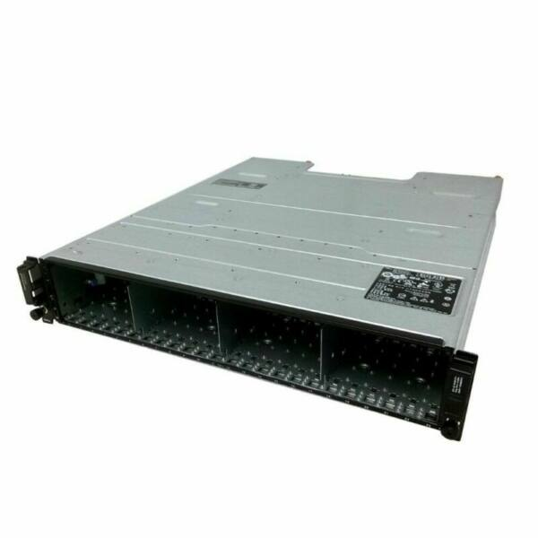 Dell PowerVault MD3220i 0x Controllers 2x PSU 24SFF SAN Storage Array