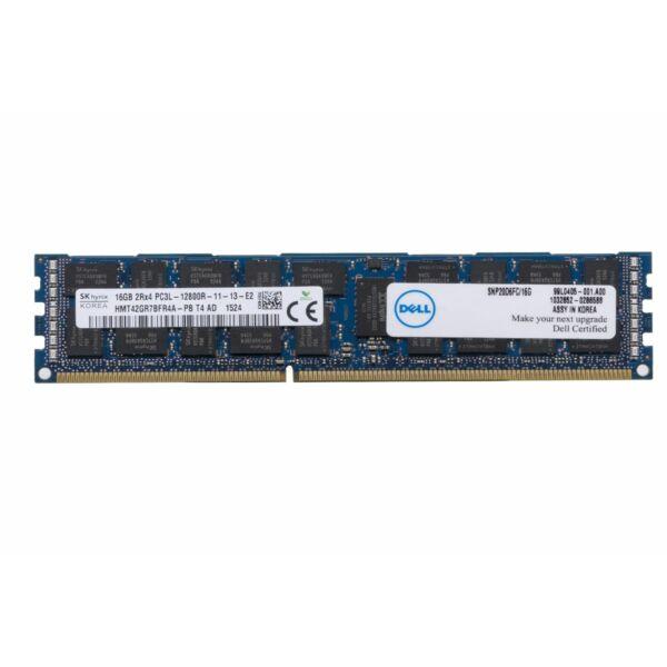DELL 16GB (1X16GB) 2RX4 PC3L-12800R DDR3-1600MHZ RDIMM