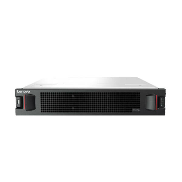 Lenovo Storage S3200 SFF with Dual FC and iSCSI Controller