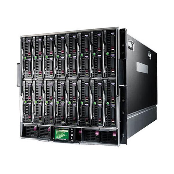 HP BLC7000 PLATINUM ENCLOSURE WITH 1 PHASE 6*PSU 10*FANS