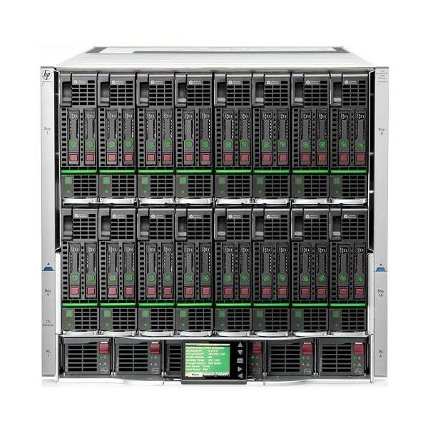 HP BLC7000 PLATINUM ENCLOSURE W/ 1 PHASE 6*PSU 10*FANS ROHS
