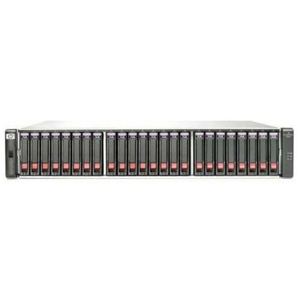 HP P2000 G3 MSA FC DUAL CONTROLLER SFF MSA WITHOUT RAILS