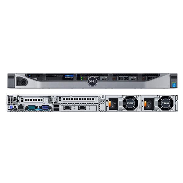 Dell R630 8SFF 2x E5-2620v3 6C 2.40GHz 32GB (4x8GB) 2133MHz PERC H730 1GB SAS RAID 2x 750W 3y svr