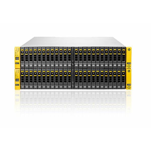 HPE 3PAR StoreServ 7400 2-node Storage Array (None HPE Support) Fully Licensed