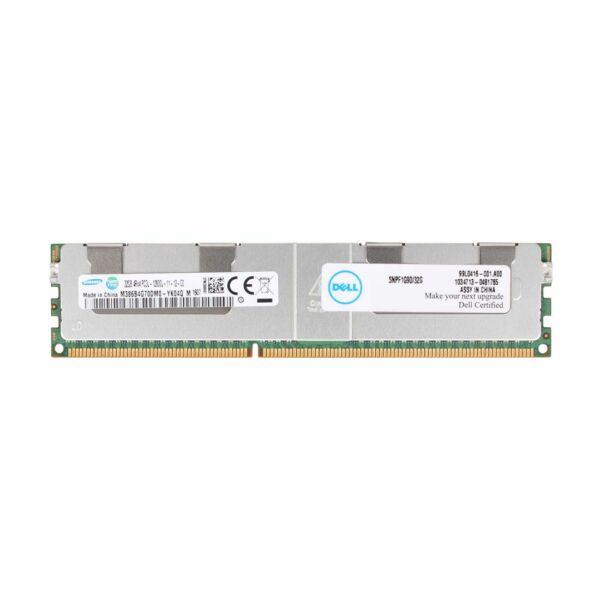 DELL 32GB (1*32GB) 4RX4 PC3L-12800L DDR3-1600MHZ ECC MEM KIT